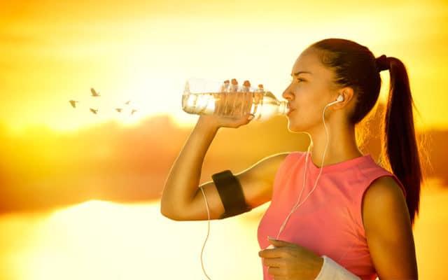 idratazione sotto il sole