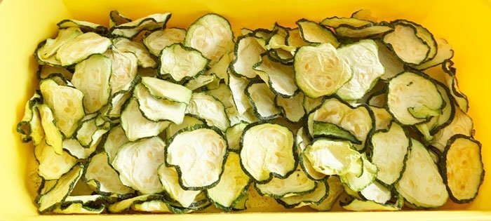 Chips (patatine) Di Zucchine