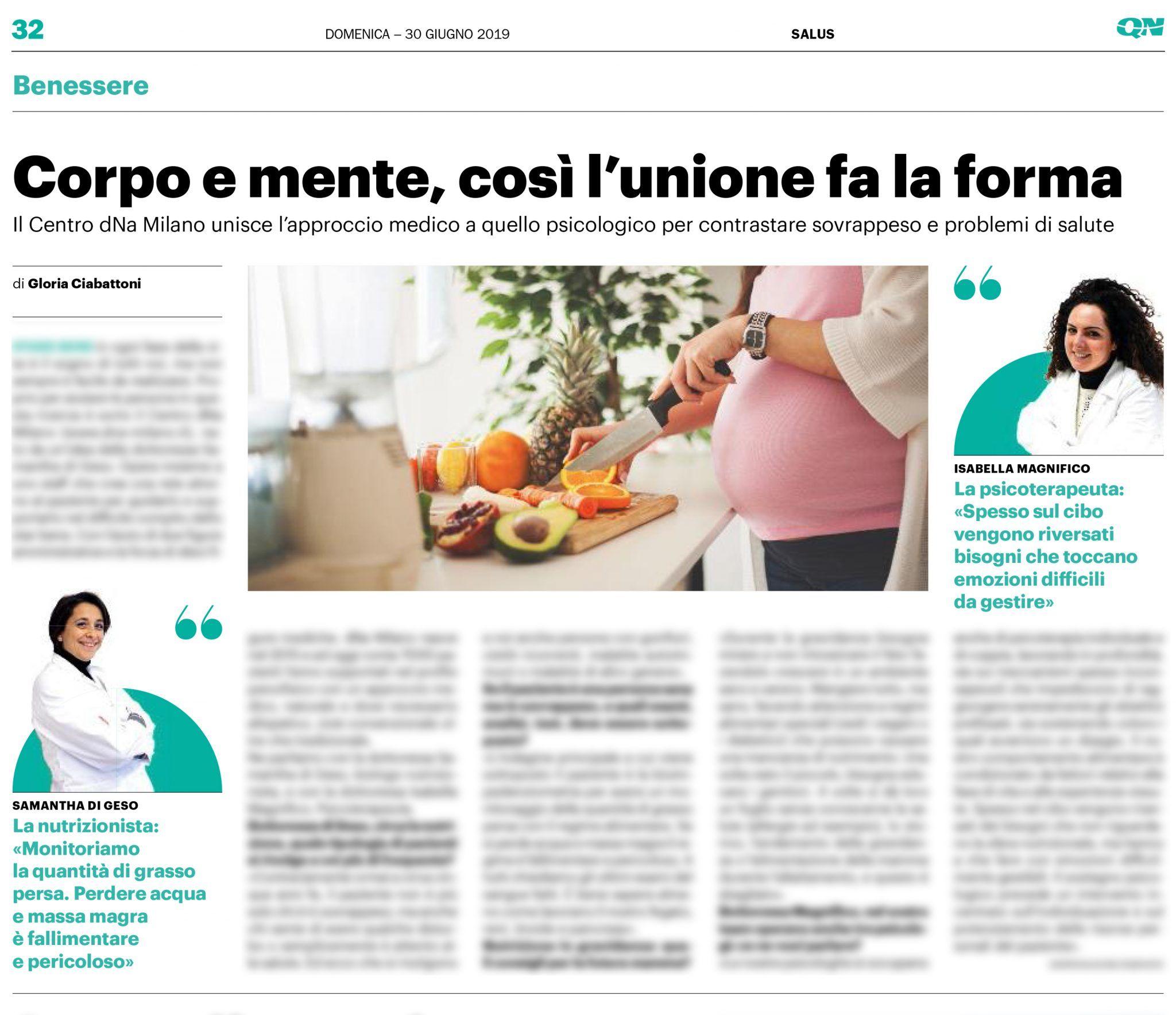 Nutrizionista Milano