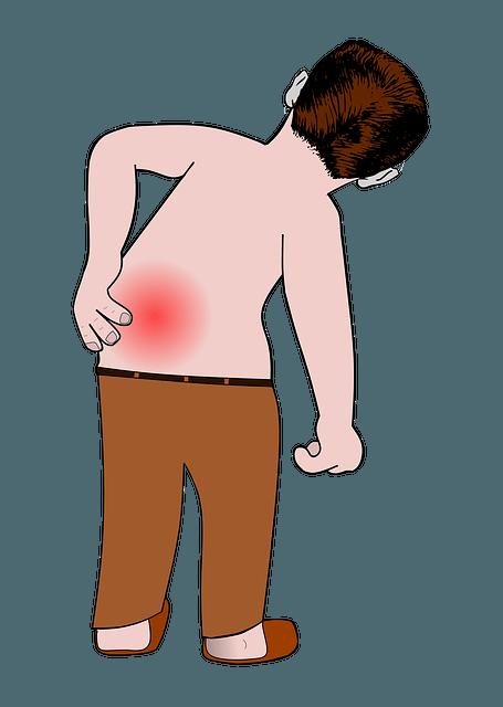 lombalgia, mal di schiena